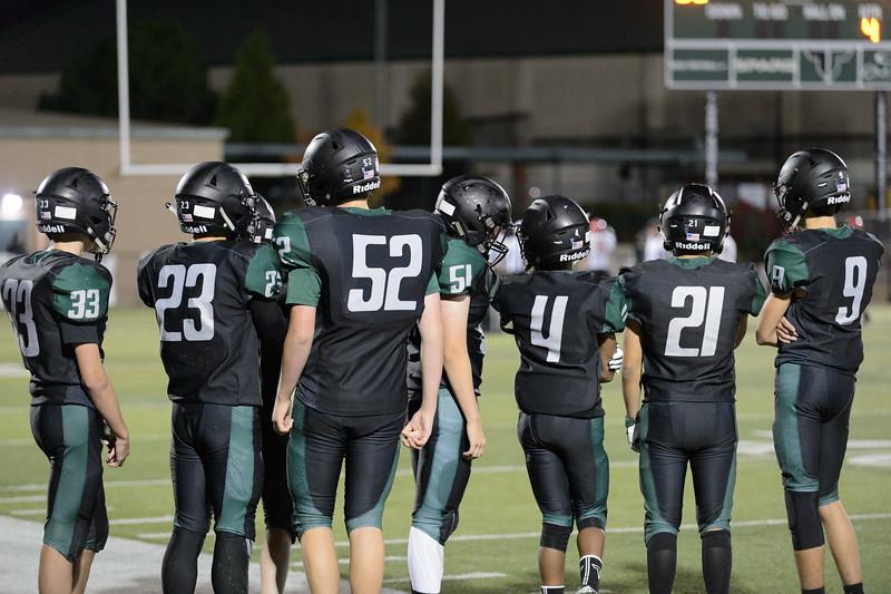 THS Freshman Football vs Oregon City