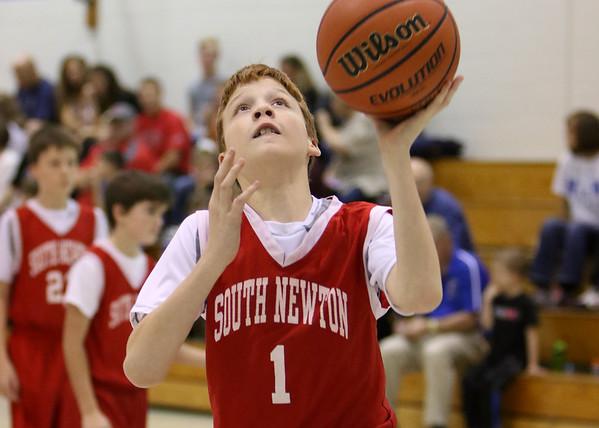 SNMS Boys Basketball 6th Grade vs NW 2015