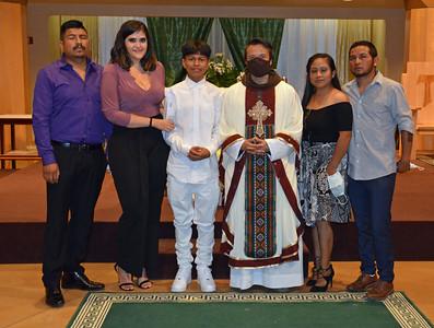 07-14-2020 First Communion, Serra Center Group 01