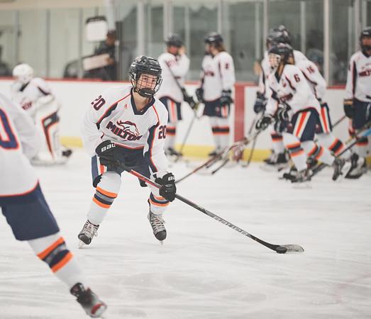 Milton Academy Girls' Hockey at Middlesex - Feb. 15, 2020
