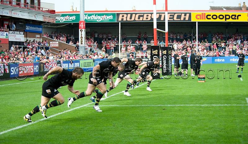 Gloucester vs Northampton Saints, Guinness Premiership, Kingsholm, 19 September 2009