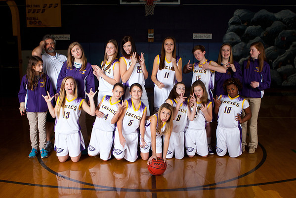 2014 Cramerton Girls Team