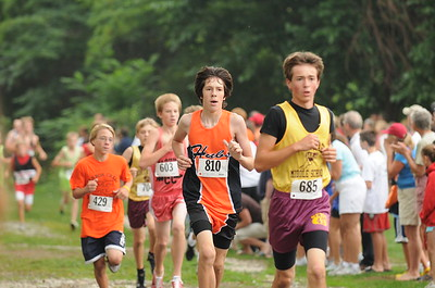 Boys Middle School Race