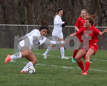 LHS Girls Soccer vs. Tonganoxie