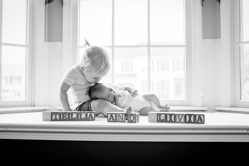 Williamsport Newborn Photographer : 9/18/16 Stella Welcomes Baby Sister Olivia