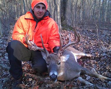 Robert Amentler, 17, 10 Pointer Deer, Walker Township (11-27-2012)