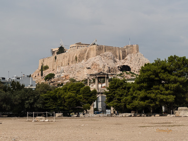 Hadrian's Gate, Athens, Greece