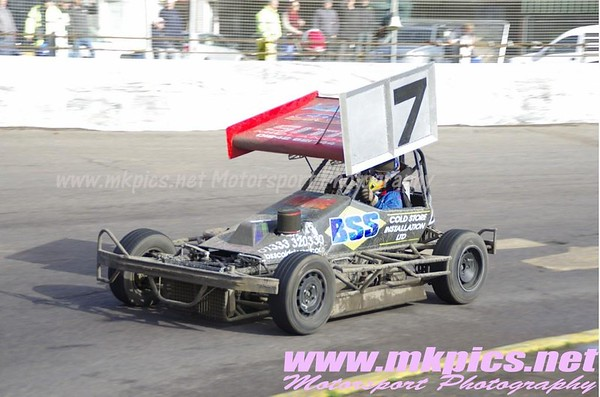 BriSCA F2 Stockcars, 16 October, Northampton