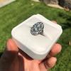 1.75ctw Edwardian Toi et Moi Old European Cut Diamond Ring  74