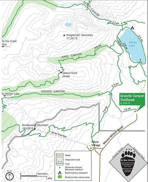 Grand Teton National Park (Granite Canyon Trailhead)