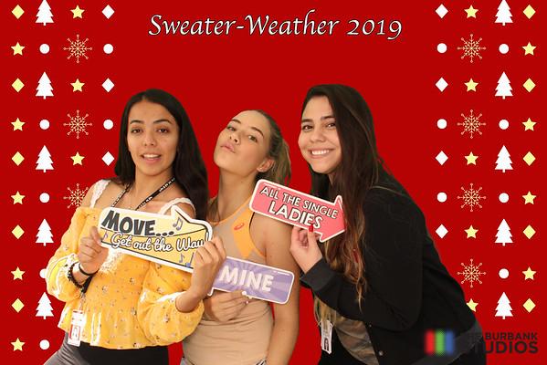 Burbank Studios Sweater Weather Party