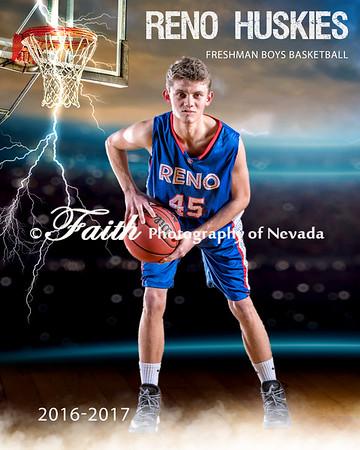 RHS FROSH BOYS basketball Portraits