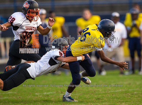 Mount Tabor Spartans vs North Davidson Black Knights JV Football 9/30/2015