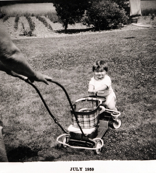 Norm at one year old.JPG