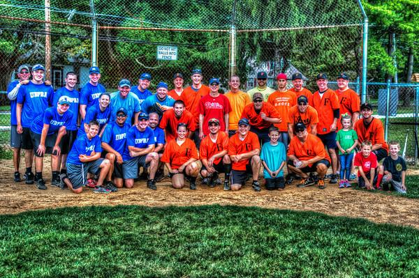 Hometown Heroes Softball Game - 2014