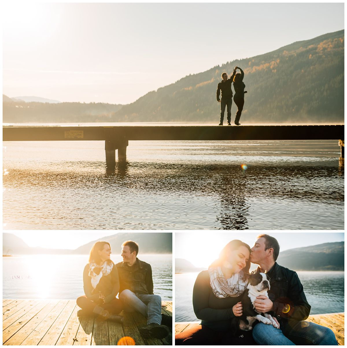 Cultus Lake engagement photos