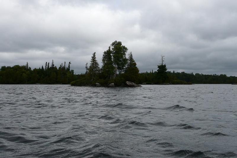 Dangerous Waves. Lac Jean-Peré, La Vérendrye Wildlife Reserve