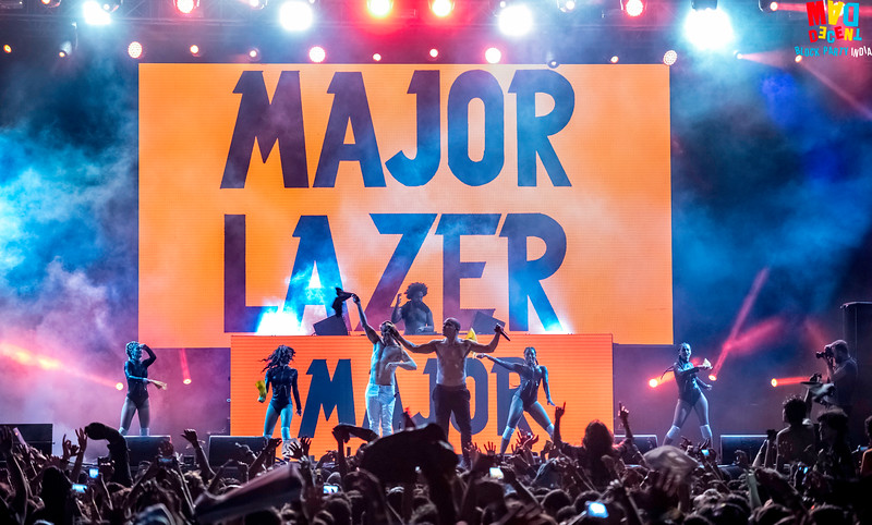 Major Lazer India tour