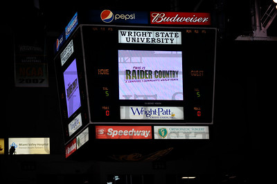 6313 Raider Country Jumbotron in the Nutter Center 2-3-11