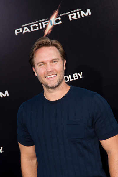 HOLLYWOOD, CA - JULY 09: Actor Scott Porter arrives at the premiere of Warner Bros. Pictures' and Legendary Pictures' 'Pacific Rim' at Dolby Theatre on Tuesday, July 9, 2013 in Hollywood, California. (Photo by Tom Sorensen/Moovieboy Pictures)