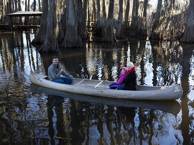 Caddo Lake Family Weekend
