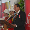 Gibraltar - Workers Memorial Day commemorated at Lobby of Gibraltar Parliament House