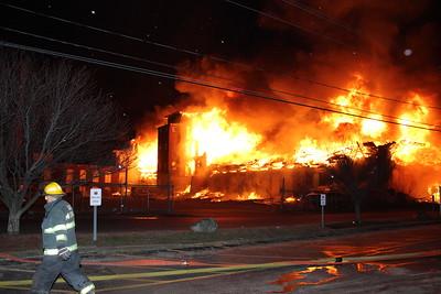 Mill Fire - Weaver St, Fall River, MA - 2/20/18