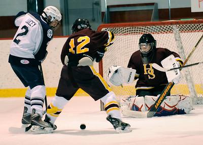 Varsity ice hockey vs. EA