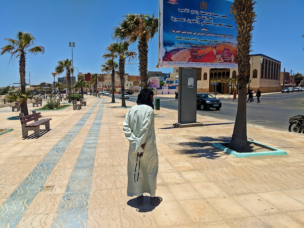 Travel to Dakhla - man walking