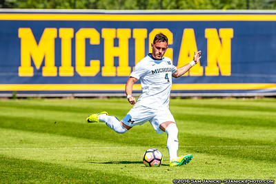 Best of UM Men's Soccer Vs Yale 9-5-16