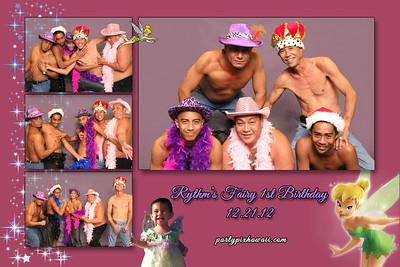 Rhythm's 1st Birthday (Multi-Photo Collage)