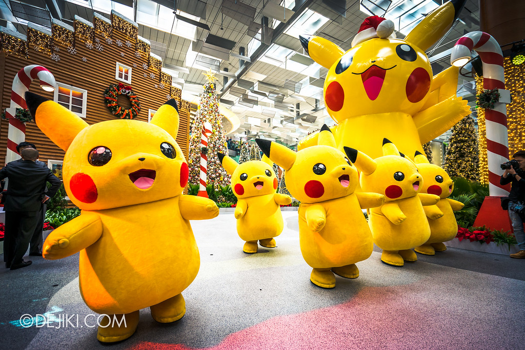 Pokémon at Changi Airport - Pikachu Parade 3