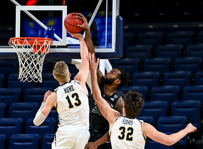 Photos: Northern Colorado Bears take down the Portland State Vikings 66-64 in Bank of Colorado Arena