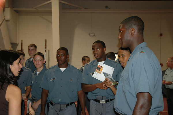 Cadets Attend College Fair