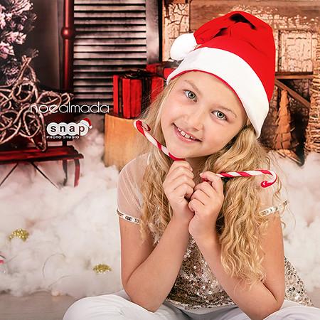 Isabella, sesión navideña