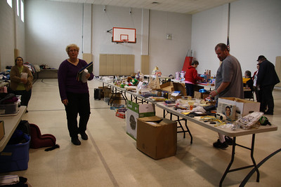 Indoor Sale, Salvation Army, Tamaqua (2-25-2012)