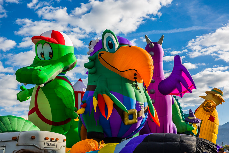 Special Shapes at Ballon Fiesta 2016