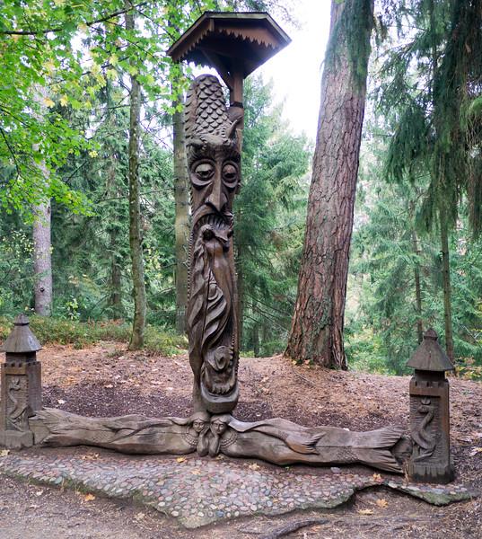 Raganu Kalnas (Hill of Witches)