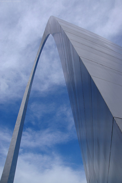 Arching to the sky