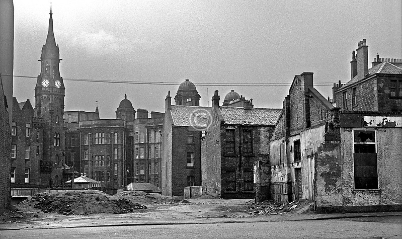 South from the east end of Parson St.  March 1973