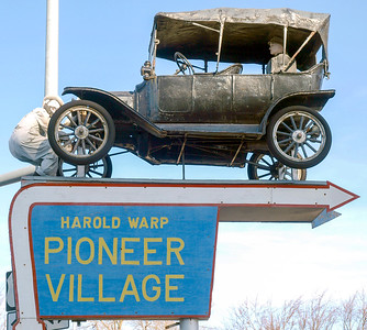 Pioneer Village, Harold Warp's Museum March, 2009