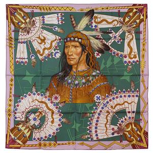 Cosmogonie Apache - Mauve Dark green Green - NWCTS - 1312240422