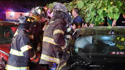 Copiague F.D. MVA w/ Entrapment  Great Neck Rd. and Anthony Ct. 7/18/21