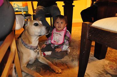 Caroline Visits Great Grand Uncle David
