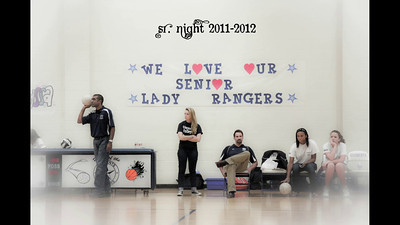 2011 Lady Rangers Volleyball Sr. Night with music