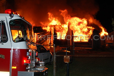 North Reading, MA - 2nd Alarm - Eames St - 8/9/06