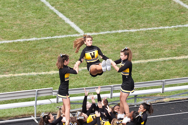 2010 Joliet West JV Cheerleaders Scrimmage Game