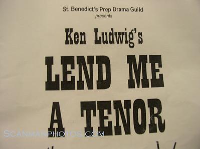 Lend Me A Tenor - Spring 2009