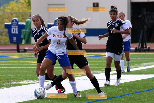 Seneca Valley Girls Soccer vs Hampton