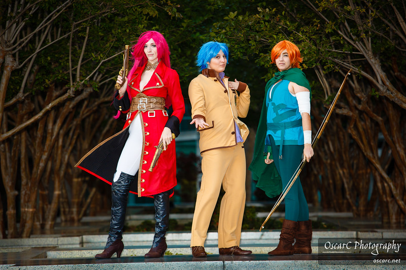 Rider (OwlDepot), Shinji Natou (Chass), Robin Hood (Eve) from fate/EXTRA